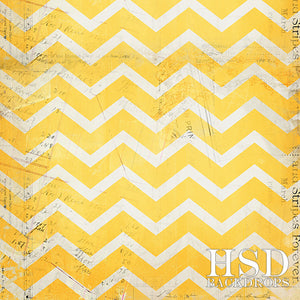 Vintage Yellow Chevron - HSD Photography Backdrops