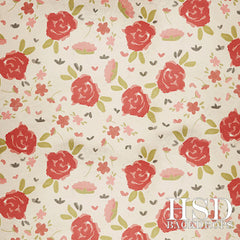 Photography Backdrop Background | Roses Are Red