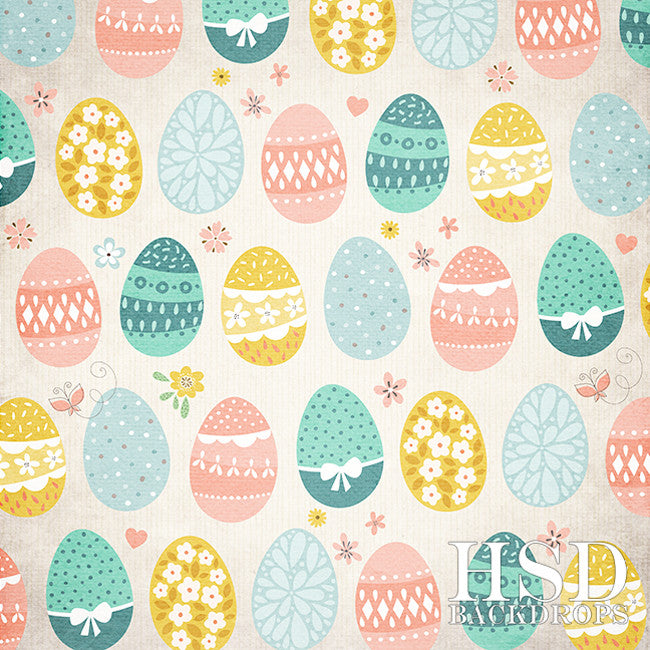 Easter Photography Backdrop | Egg Hunt