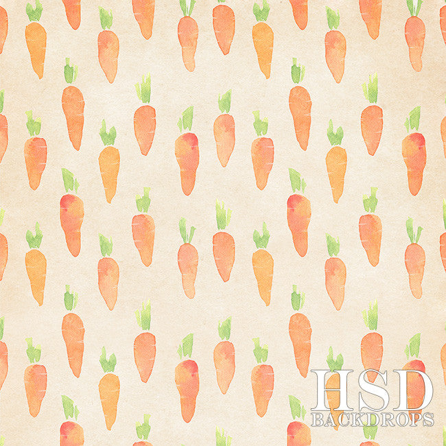 Easter Photography Backdrop | Carrot Patch