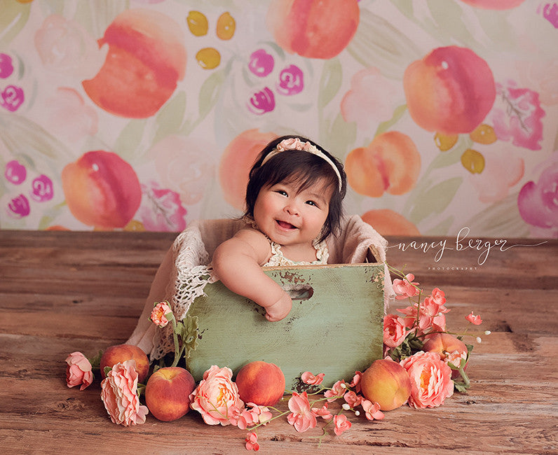Sweet Peach - HSD Photography Backdrops