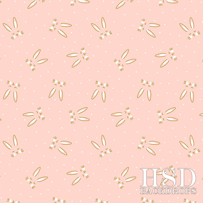 Easter Photography Backdrop | Bunny Ears
