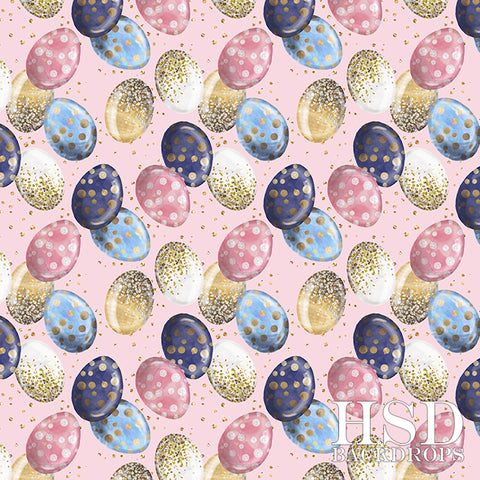 Easter Photography Backdrop | Egg-Stravaganza