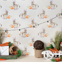 Easter Photography Backdrop | Easter Set Up