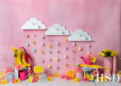 Spring Photography Backdrop | April Showers