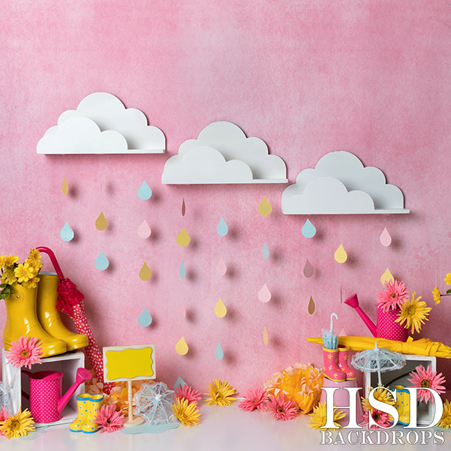 April Showers photography backdrop & background