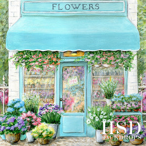 Flower Shop - HSD Photography Backdrops