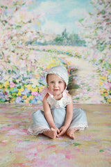 Spring Photography Backdrop | Botanical Gardens