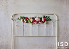 Photography Backdrop | Spring Floral Headboard