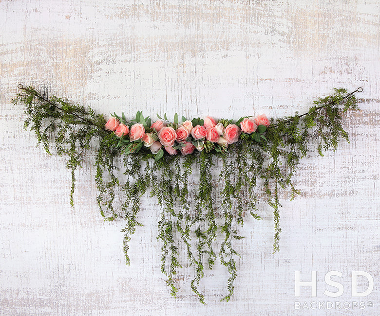Rose Garland photography backdrop & background