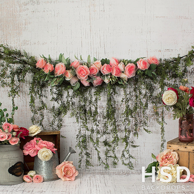 In Bloom photography backdrop & background