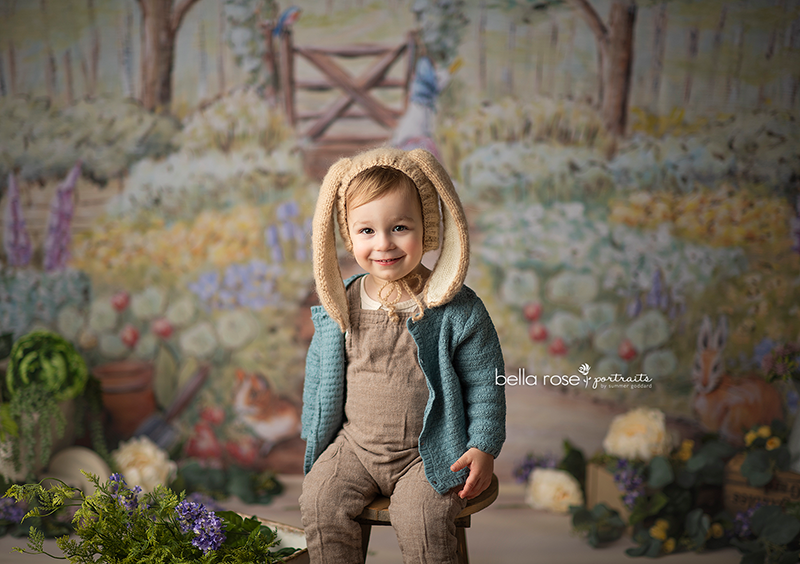 Peter's Garden photography backdrop & background