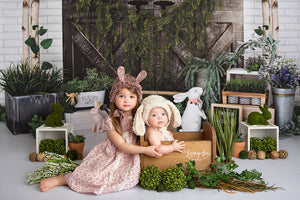 Easter Blessings photography backdrop & background