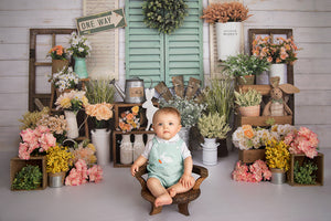 Ready for Spring photography backdrop & background