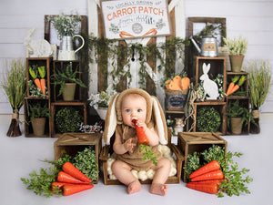 Hoppy Easter photography backdrop & background