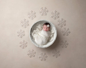 Shimmer | White Christmas Coll. | Digital - HSD Photography Backdrops