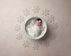 Digital Backdrop | White Christmas Coll. | Shimmer