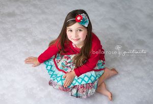 Snow Floor photography backdrop & background
