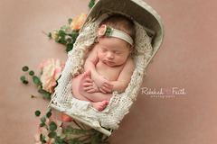 Textured Photography Backdrop Background | Peach Blossom