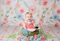 Photography Backdrop Background | Riley Floral