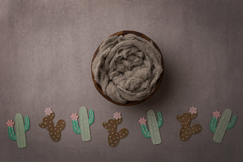 Digital Backdrop | Stuck On You Coll. | Little Cacti