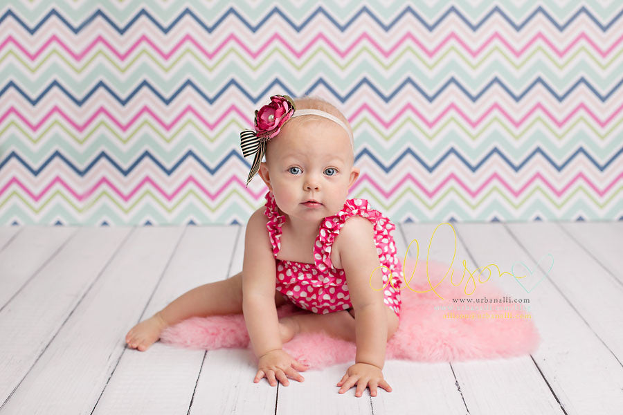 Chic Chevron photography backdrop & background