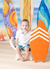 Photography Backdrop Background  | Beach Bum
