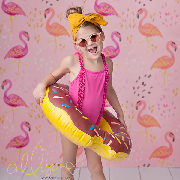 Flamingos photography backdrop & background