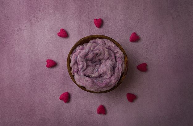 Digital Backdrop | Surrounded By Love Purple