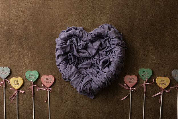 Newborn Digital Backdrop | Sweet Heart