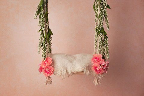 Digital Backdrop | Swings Coll. I | Baby Blush