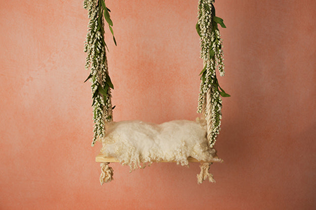 Digital Backdrop | Swings Coll. I | Peach Sorbet