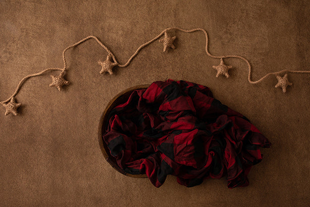 Twine Stars III | Winter Woodland Coll. | Digital photography backdrop & background