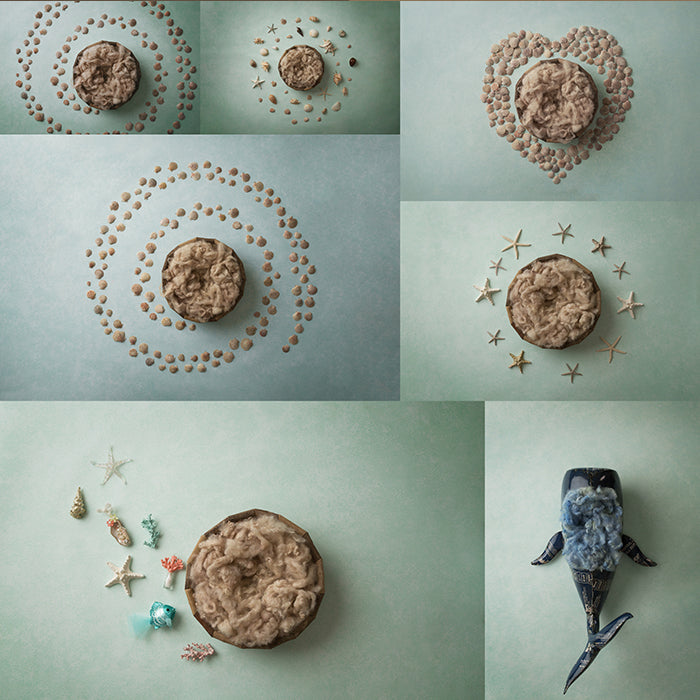 Under The Sea Collection | Digital photography backdrop & background