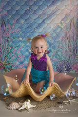 Photography Backdrop Background | Under the Sea