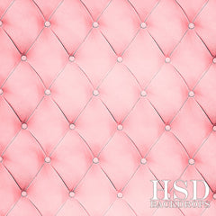 Valentine's Photography Backdrop | Pink Tufted Fabric
