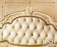 Photography Backdrop | Luxury Bed Headboard