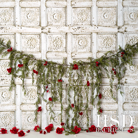 Valentine's Photography Backdrop | Vigne Rouge
