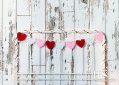 Photography Backdrop | Valentine's Day Headboard