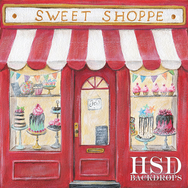 Sweet Shoppe photography backdrop & background