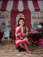 Valentine's Photography Backdrop | Sweet Shoppe