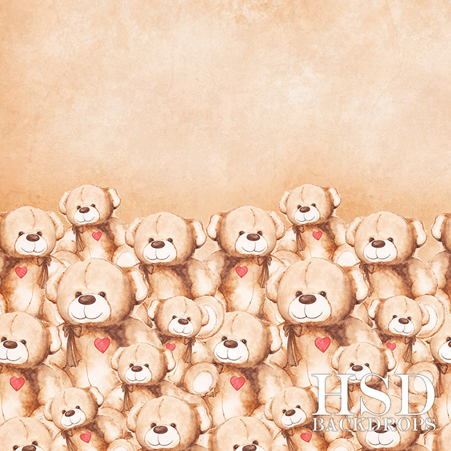 Beary Loved - HSD Photography Backdrops