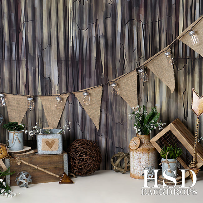 Rustic Love photography backdrop & background