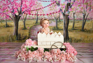 Love Tree photography backdrop & background