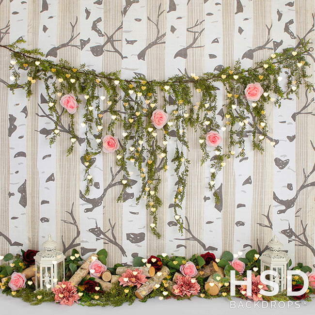 Heart to Heart photography backdrop & background
