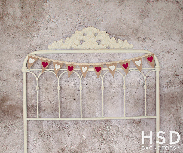 Valentine's Day Banner Headboard photography backdrop & background