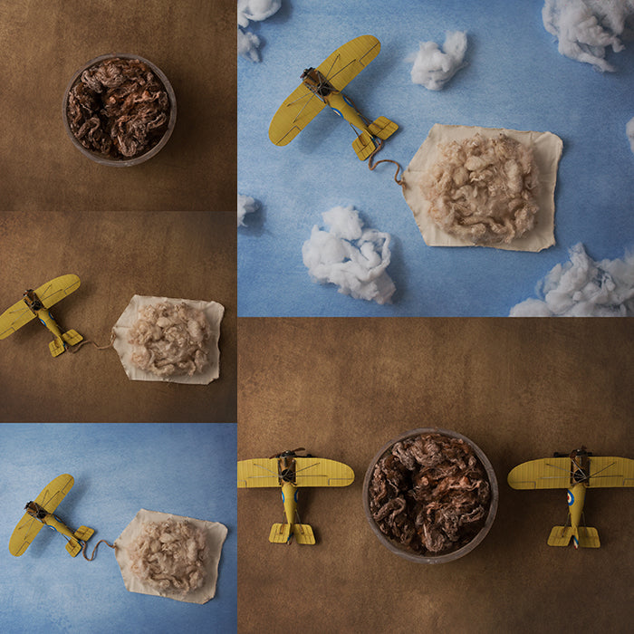 Digital Backdrops | Vintage Airplanes Collection