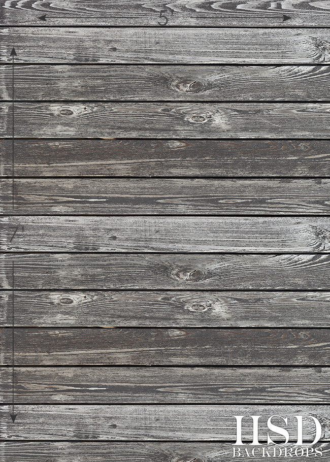 Weathered Gray Wood Floor Drop photography backdrop & background