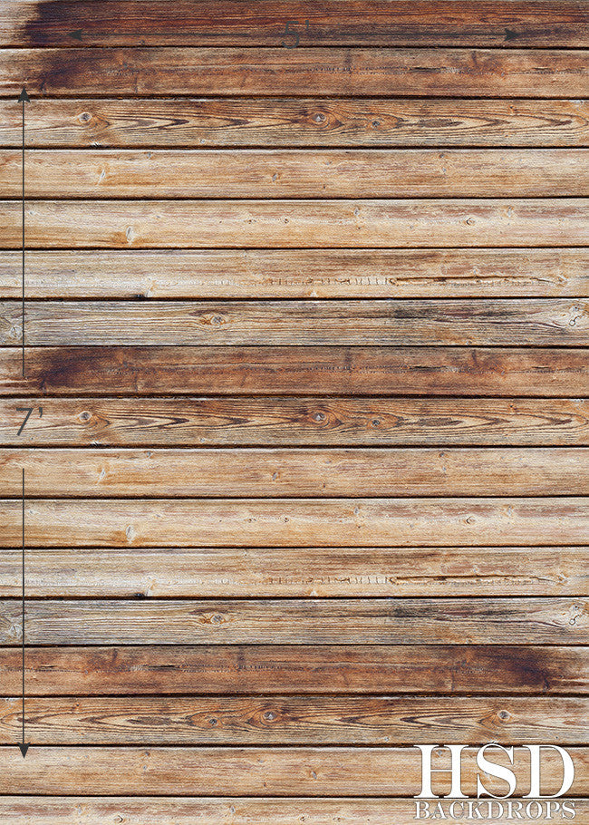 Aged Wood Floor Drop photography backdrop & background