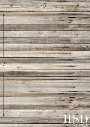 Washed Stained Wood  Floor Drop photography backdrop & background